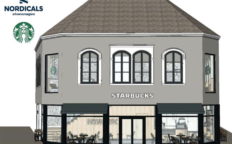 Starbucks i Odense centrum