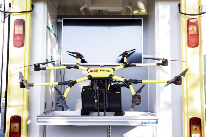 Droner på Fyn er fremtiden