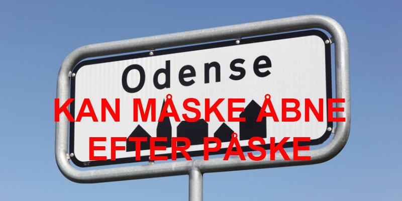 Odense og resten af Danmark kan måske så småt åbne efter påske, men …