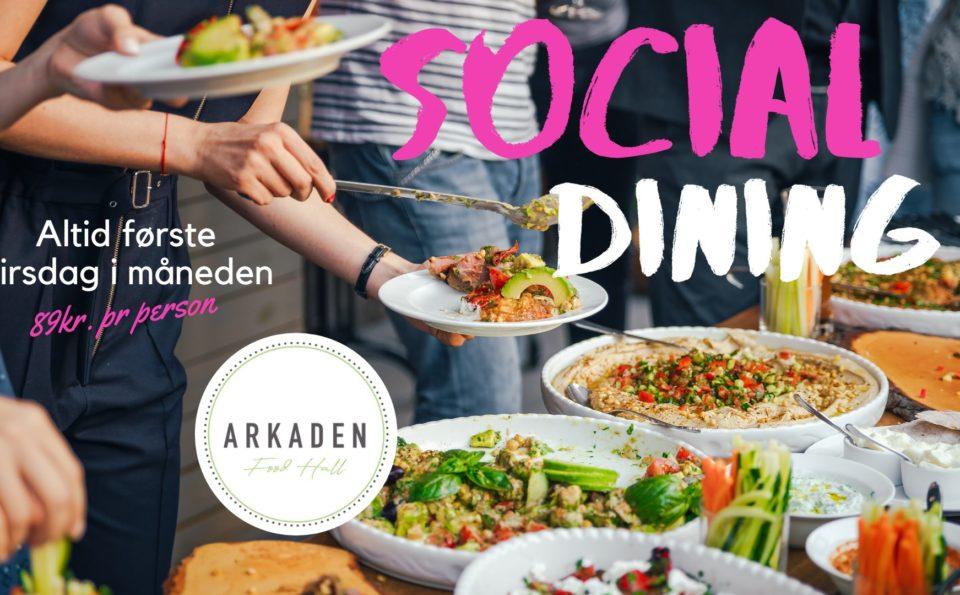 Casual Social Dining på Arkaden